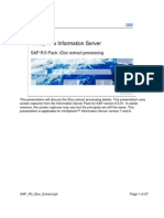 SAP R3 iDoc Extract