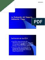 2.2. La Evaluación del Impacto Ambiental