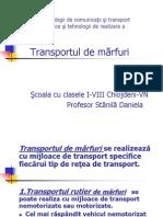 Transportul de Marfuri