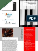 Programa Concierto Yerko