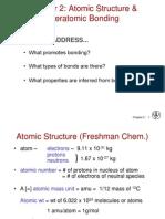 Materials Behavior for Industry-Basics (1.1) Basics_Bonds
