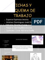 Fichas y Esquema de Trabajo.