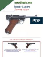 Luger Mauser Pistols Current Value