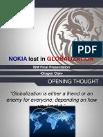 Nokia Lost in Globalization