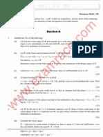 IAS Mains Mathematics 2007