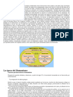 Ficha de Trabajo Humanismo y Renacimiento