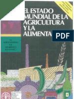 El estado Mundial de la agricultura y la alimentacion