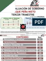 Consulta Mitofsky - Evaluacion del Gobierno de Enrique Peña Nieto