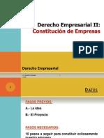 Constitucion de Empresas