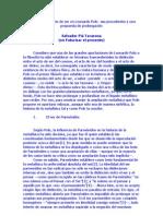 La Doctrina Del Acto de Ser en Leonardo Polo