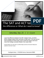 ACT SAT Whats Diff