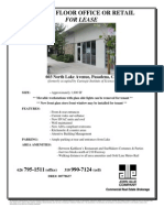 GROUND FLOOR OFFICE OR RETAIL