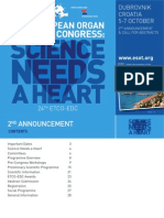 EODC 2012 Dubrovnik 2nd Announcement
