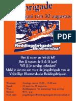 Poster Jeugdbrigade VBR