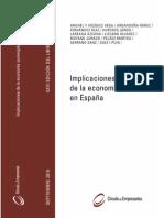 Impicaciones de la economia sumergida en España