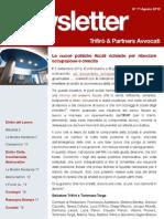 Newsletter T&P N°71