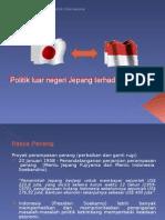 Hubungan Indonesia Jepang