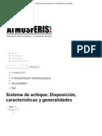 Sistema de achique_ Disposición, características y generalidades