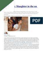 Sri Lanka Slaughter in the No Fire Zone