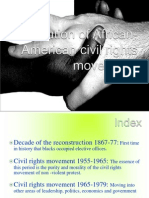 91709724 Evolution of African American Civil Rights Movement vAna