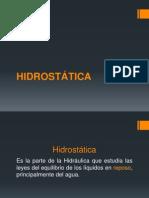 2 HIDROSTÁTICA