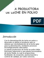Planta Productora de Leche en Polvo