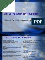 Declaring Independence & Common Sense