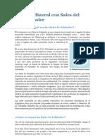 Todo sobre la bioquímica Schüssler -sales de Schussler eMag 7