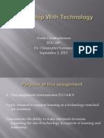 edu 697 week 5 revised assignment