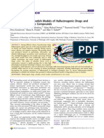 Zebrafish models of hallucinogenic drugs and related psychotropic compounds