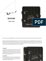 Suhr Buffer Manual