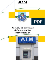 Case Study on Automated Teller Machine (ATM)