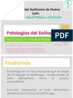 Patologías del Esófago completo