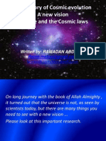 The Theory of Cosmic Evolution a New Vision of Time and the Cosmic Laws