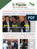 Asambleistas Atilio Hoyos-Wilfredo Zurca-Raul Mansilla- Todo una Magia de Corruptos