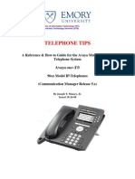 Telephone Tips
