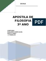 APOSTILA FILOSOFIA 3ºANO
