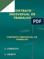 3a. Aula - Contrato Individual de Trabalho