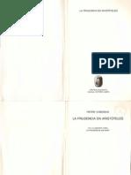 Abenque Pierre - La Prudencia en Aristoteles