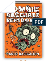 Zombie Baseball Beatdown by Paolo Bacigalupi (SAMPLE)