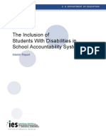 The Inclusion of Children With Disabilities