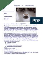 Relazione dettagliata sulla combustione - classe 3° e 4° primaria - a. 2008/09