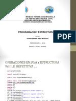 Operaciones en Java