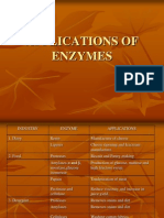 Applications of Enzymes