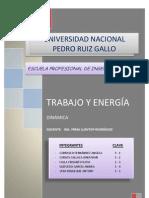 TRABAJO Y ENERGÍA PARA 1° CRITICA