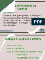 Modulo i - A Cipa e o Cipeiro
