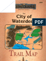 Tsr09401 - AD&D Accessory - FR - The City of Waterdeep Trail Map