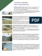Zonas de Bano Comunidad de Madrid y Alrededores