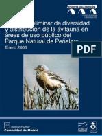 Avifauna en el Parque Natural de Peñalara