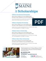 Merit Scholar Flyer